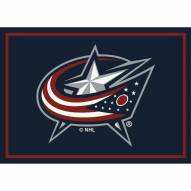 Columbus Blue Jackets NHL Team Spirit Area Rug