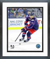 Columbus Blue Jackets Nick Foligno Action Framed Photo
