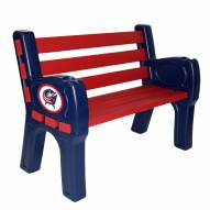 Columbus Blue Jackets Park Bench