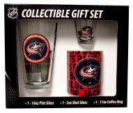 Columbus Blue Jackets Pint, Shot, Coffee Mug Set