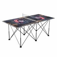 Columbus Blue Jackets Pop Up 6' Ping Pong Table
