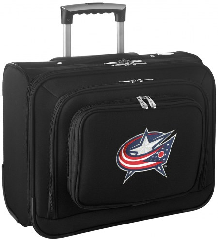 Columbus Blue Jackets Rolling Laptop Overnighter Bag