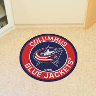 Columbus Blue Jackets Rounded Mat