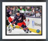 Columbus Blue Jackets Scott Hartnell Action Framed Photo