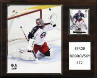 "Columbus Blue Jackets Sergei Bobrovsky 12"" x 15"" Player Plaque"