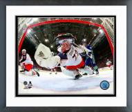 Columbus Blue Jackets Sergei Bobrovsky Action Framed Photo