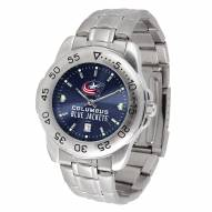 Columbus Blue Jackets Sport Steel AnoChrome Men's Watch