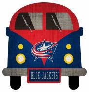 Columbus Blue Jackets Team Bus Sign