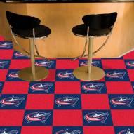 Columbus Blue Jackets Team Carpet Tiles