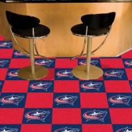 Columbus Blue Jackets Team Carpet Tiles