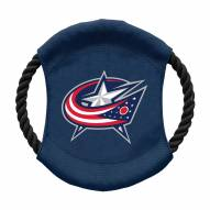 Columbus Blue Jackets Team Frisbee Dog Toy