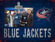 Columbus Blue Jackets Team Name Clip Frame