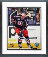 Columbus Blue Jackets Tim Erixon Action Framed Photo
