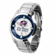 Columbus Blue Jackets Titan Steel Men's Watch