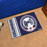 Columbus Blue Jackets Uniform Inspired Starter Rug