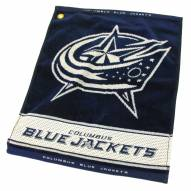 Columbus Blue Jackets Woven Golf Towel