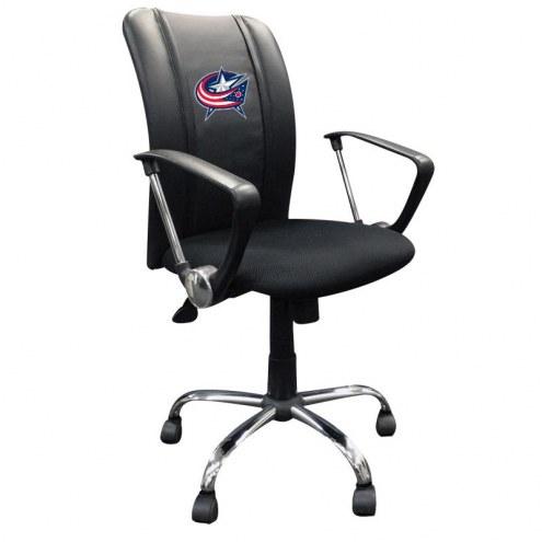 Columbus Blue Jackets XZipit Curve Desk Chair