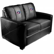 Columbus Blue Jackets XZipit Silver Loveseat