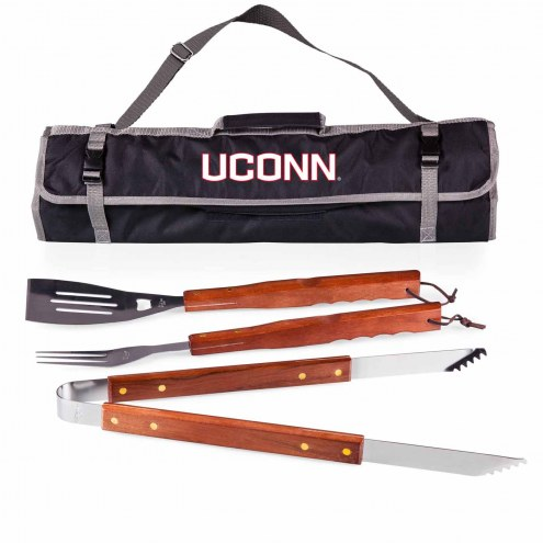 Connecticut Huskies 3 Piece BBQ Set