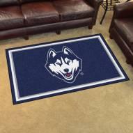 Connecticut Huskies 4' x 6' Area Rug