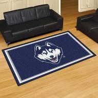 Connecticut Huskies 5' x 8' Area Rug