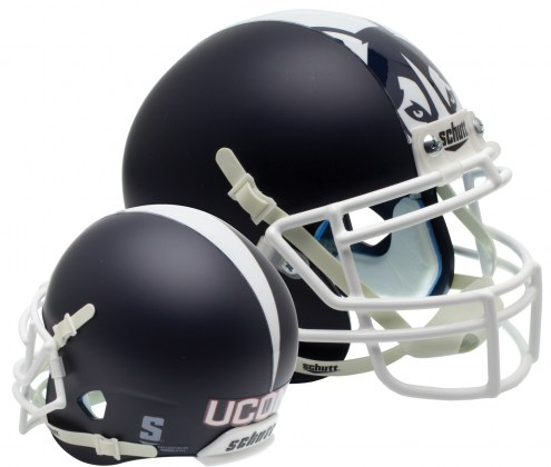 Connecticut Huskies Alternate 1 Schutt XP Collectible Full Size Football Helmet