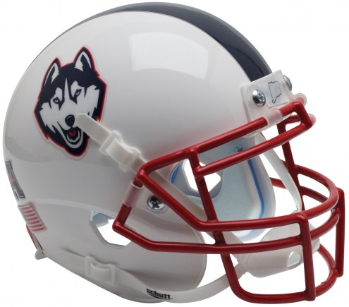 Connecticut Huskies Alternate 3 Schutt XP Authentic Full Size Football Helmet