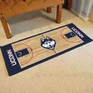 Connecticut Huskies Basketball Court Runner Rug