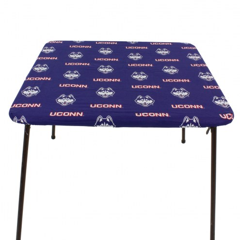 Connecticut Huskies Card Table Cover