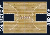 Connecticut Huskies College Home Court Area Rug