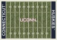 Connecticut Huskies College Home Field Area Rug