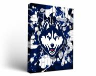 Connecticut Huskies Fight Song Canvas Wall Art