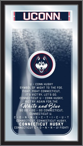 Connecticut Huskies Fight Song Mirror