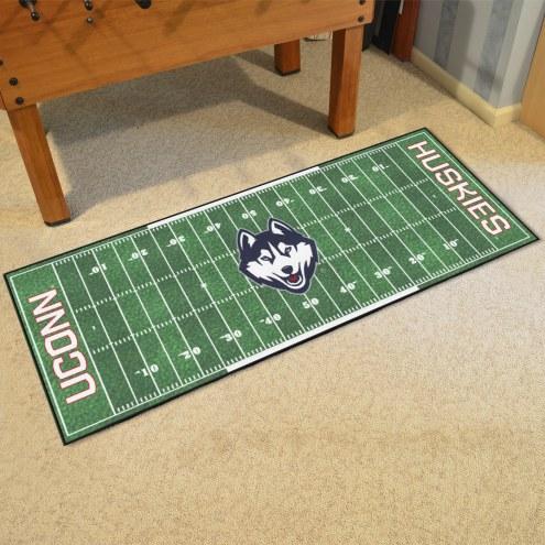 Connecticut Huskies Football Field Runner Rug