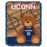 Connecticut Huskies Fullback Baby Blanket