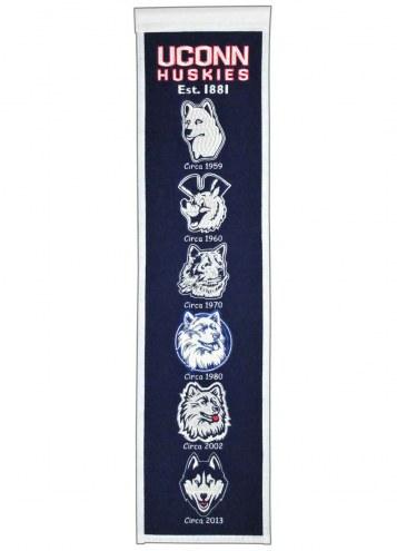 Connecticut Huskies Heritage Banner