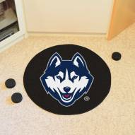 Connecticut Huskies Hockey Puck Mat