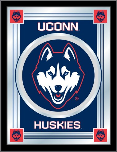 Connecticut Huskies Logo Mirror