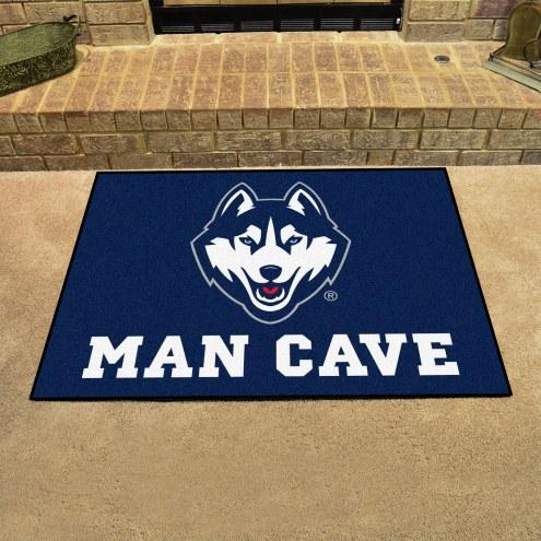 Connecticut Huskies Man Cave All-Star Rug