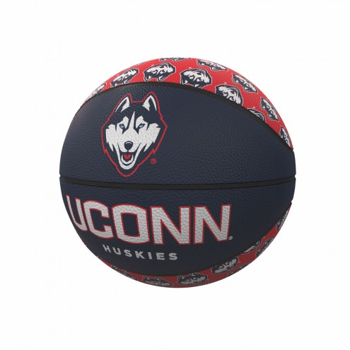 Connecticut Huskies Mini Rubber Basketball