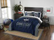 Connecticut Huskies Modern Take Full/Queen Comforter Set