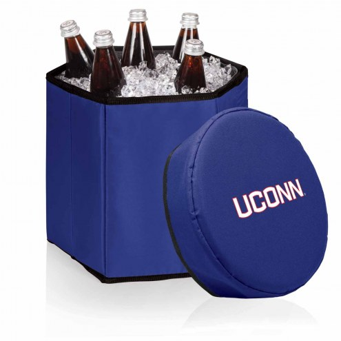 Connecticut Huskies Navy Bongo Cooler