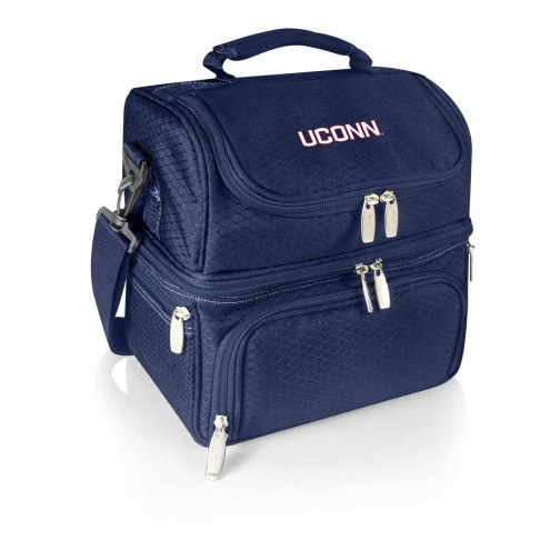 Connecticut Huskies Navy Pranzo Insulated Lunch Box