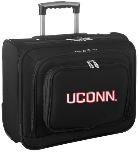 Connecticut Huskies Rolling Laptop Overnighter Bag