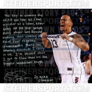 "Connecticut Huskies Shabazz Napier NCAA Men's Final Four Championship Story Signed 16"" x 20"" Photo"