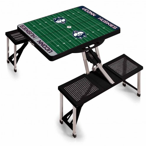 Connecticut Huskies Sports Folding Picnic Table