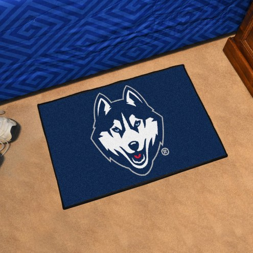 Connecticut Huskies Starter Rug