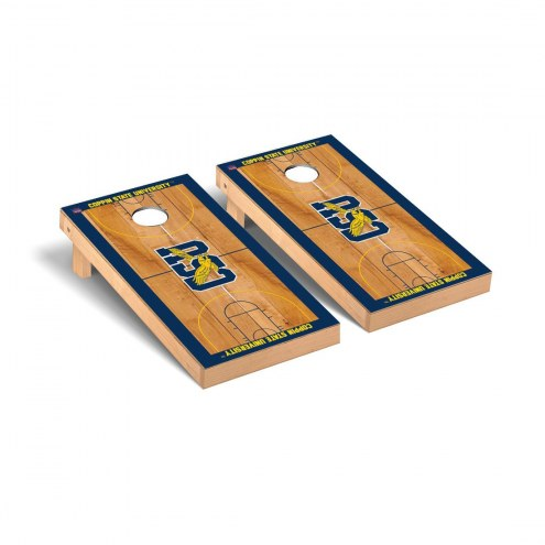 Coppin State Eagles Basketball Court Cornhole Game Set