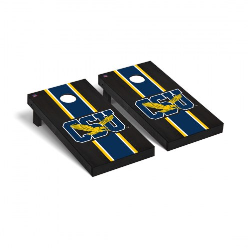Coppin State Eagles Onyx Stained Cornhole Game Set
