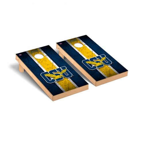 Coppin State Eagles Vintage Cornhole Game Set